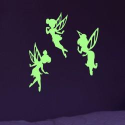 Stickers Phosphorescent Fées