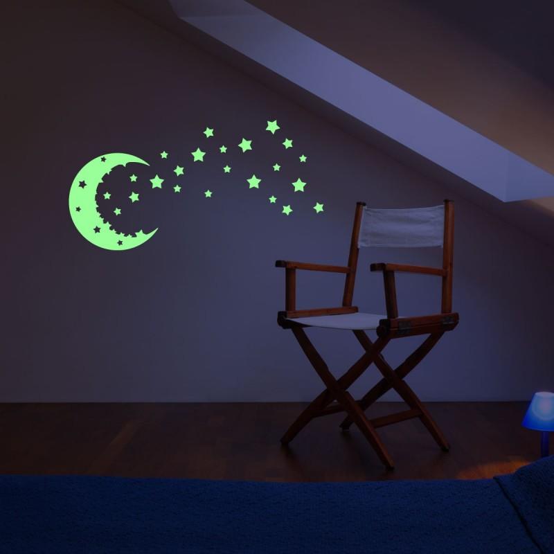 Salle De Bain Decoration Orientale : Stickers Muraux / Stickers Phosphorescents / Sticker Phosphorescent …