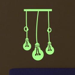 Sticker 3 ampoules phosphorescentes