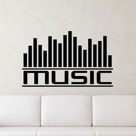 Sticker Graphe music