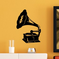 Sticker Gramophone