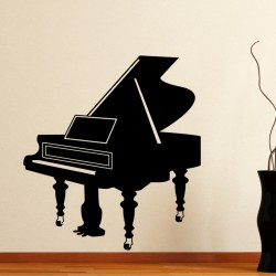 Sticker Grand piano