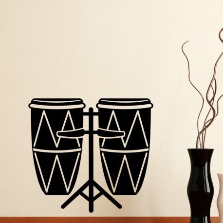 Sticker Double tambour
