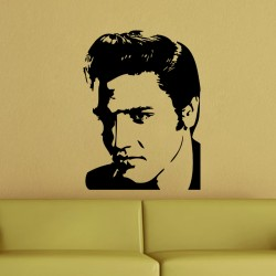 Sticker Portrait Elvis Presley