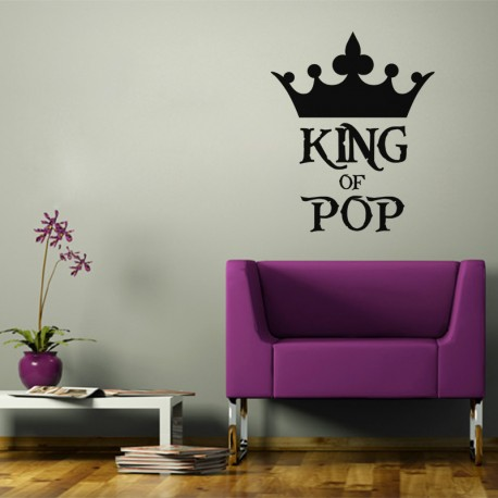 Sticker King of pop