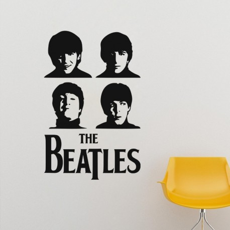 Sticker Poster The Beatles
