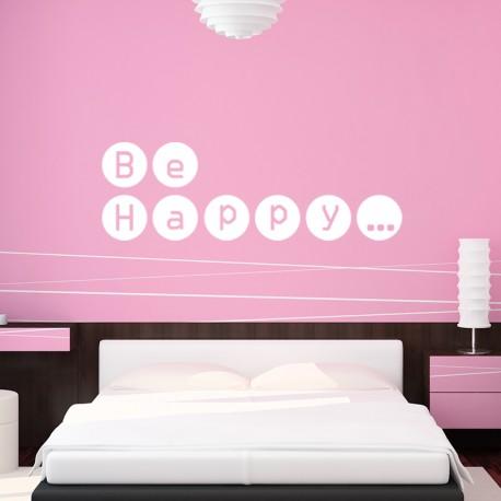 Sticker Be Happy