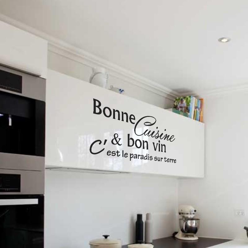 Sticker bonne cuisine et bon vin c 39 est pas cher - Stickers cuisine enfant ...