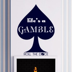 Sticker life's a gamble