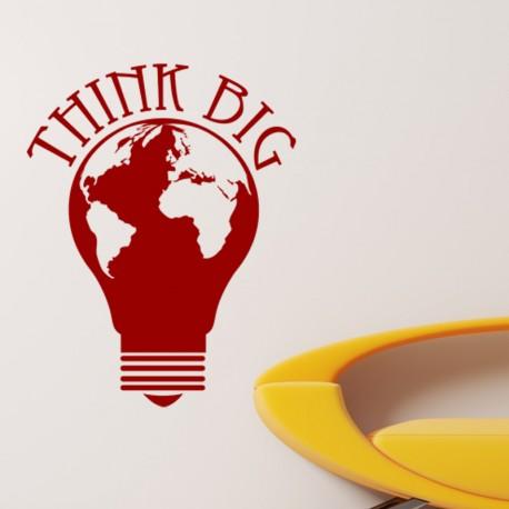 Sticker Think big