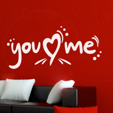 Sticker you love me