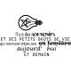 Sticker Les bons souvenirs