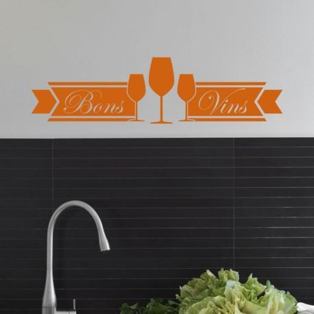 Sticker Bons vins