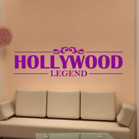 Sticker Hollywood legend