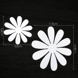 Sticker Fleurs 3D chics adhésives MIROIR