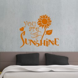 Sticker You are my sunshine