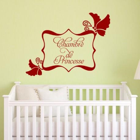 Sticker Chambre de princesse