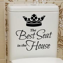 Sticker Le meilleur siège