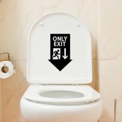 Sticker Seule sortie