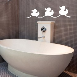 Stickers canards de bain