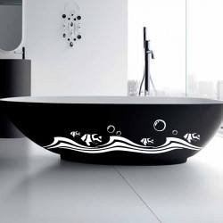 sticker salle de bain pas cher stickers salle bains madeco stickers. Black Bedroom Furniture Sets. Home Design Ideas