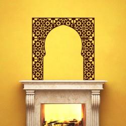 Sticker Fenêtre islamique