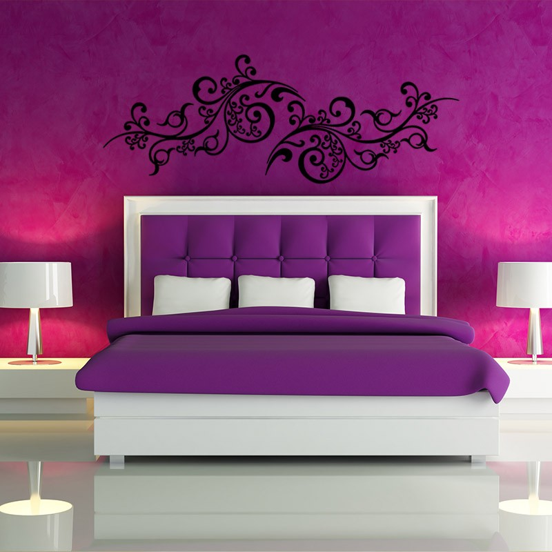 sticker plante arabe pas cher stickers d co orientale. Black Bedroom Furniture Sets. Home Design Ideas