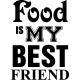 Sticker Food is my best friend