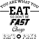 Sticker You are what you eat