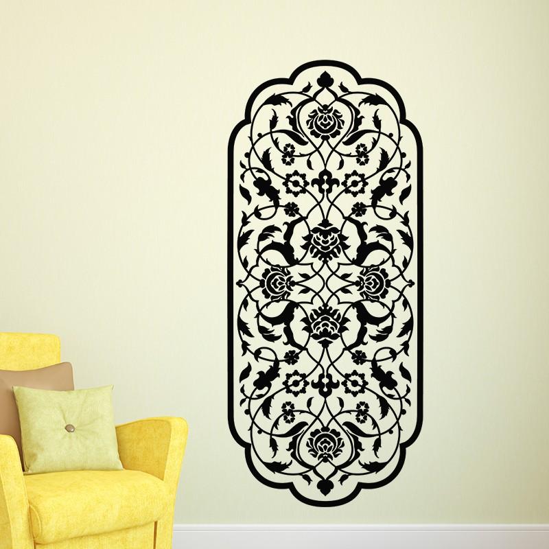 sticker fresque orientale pas cher stickers d co. Black Bedroom Furniture Sets. Home Design Ideas