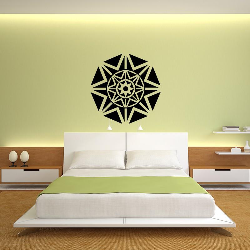 sticker d co islamique 2 pas cher stickers d co orientale discount stickers muraux madeco. Black Bedroom Furniture Sets. Home Design Ideas