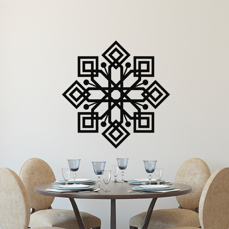 sticker d co arabe 4 pas cher stickers d co orientale. Black Bedroom Furniture Sets. Home Design Ideas