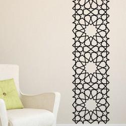 Stickers arabesque oriental étoiles carrées