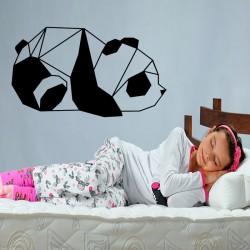Sticker panda en origami 2