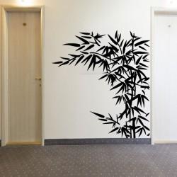 Sticker feuilles de bambous