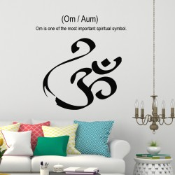 Sticker Om/Aum