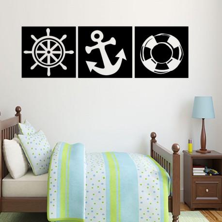 Sticker outils pour bateau