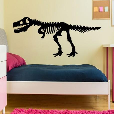 Sticker squelette d'un Tyrannosaure