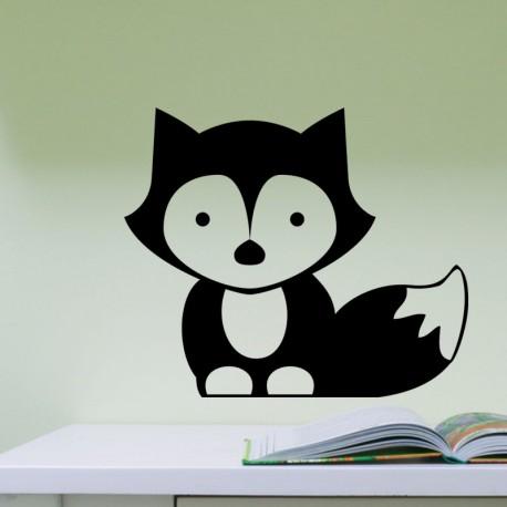 Sticker petit renard
