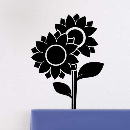 Sticker jolies tournesols