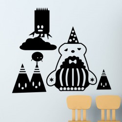 Sticker design enfants