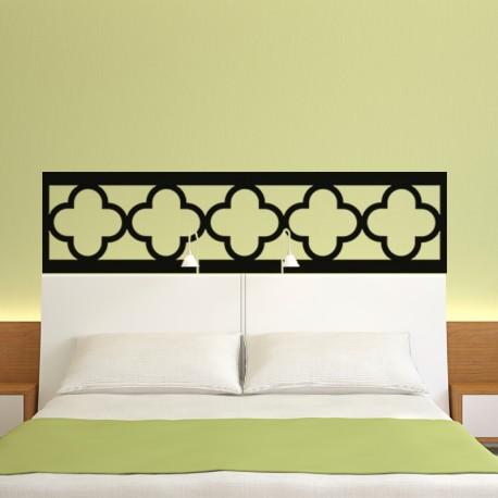 sticker t te de lit oriental pas cher stickers orientaux discount stickers muraux madeco. Black Bedroom Furniture Sets. Home Design Ideas