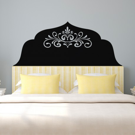 sticker t te de lit arabesque pas cher stickers. Black Bedroom Furniture Sets. Home Design Ideas
