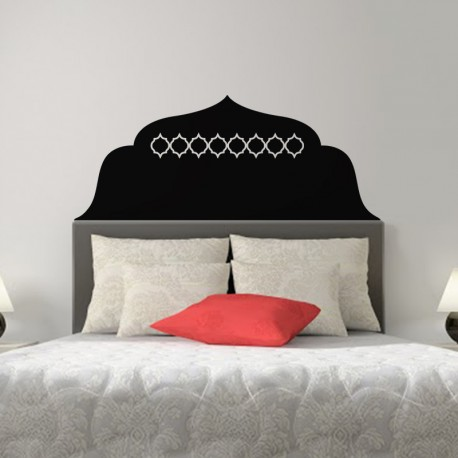 sticker t te de lit oriental 2 pas cher stickers orientaux discount stickers muraux madeco. Black Bedroom Furniture Sets. Home Design Ideas