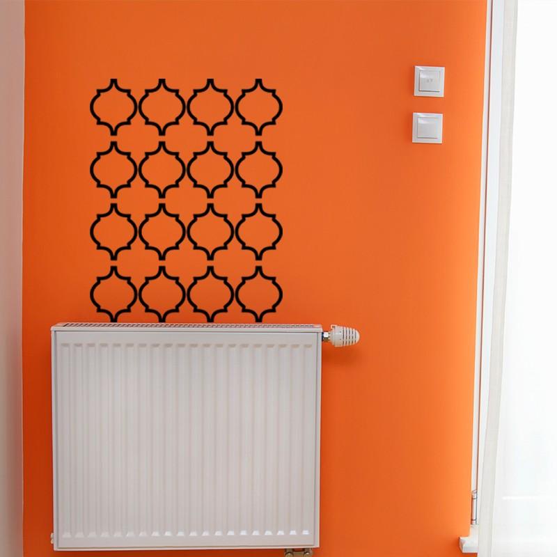 sticker frise orientale pas cher stickers orientaux discount stickers muraux madeco stickers. Black Bedroom Furniture Sets. Home Design Ideas