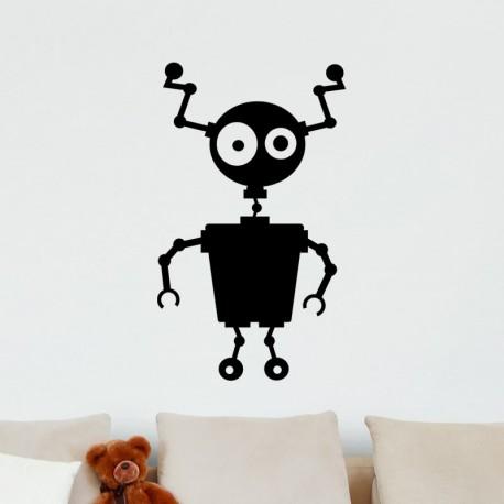 Sticker petit robot abimé