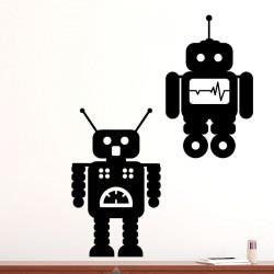 Sticker petits robots 2