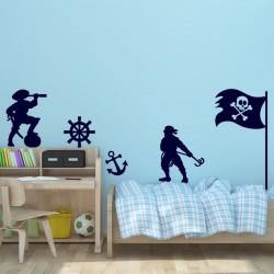 Sticker une vie de pirate