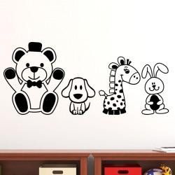 Sticker mignons petits animaux
