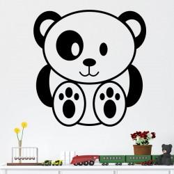 Sticker mignon petit ours